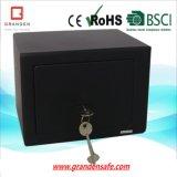 Mini Key Lock Safe (G-17KY) , Solid Steel