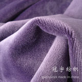 Short Hair Velour Polyester Fabric for Sofa