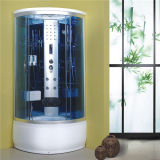 Bathroom Design Tempered Glass Round Shower Room Cabin