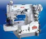 FIT662N-356/Tlsuper High Speed Cylinder Bed Interlock Machine with Puller