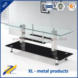 Living Room Furniture Bent Glass Plasma LCD TV Stand