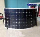 19%-23% High Efficiency Sunpower Cells Semi Flexible Solar Panel