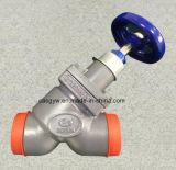 Y Type Cast Valve Use on Ammonia System with Handwheel