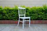 Low Price White Aluminum Napoleon Chair for Banquet