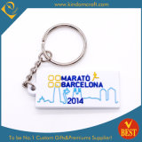 High Quality Customized Eco-Friendly PVC Key Ring for Marathon Souvenir at Factory Price