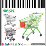 Small Volum Supermarket Shopping Cart