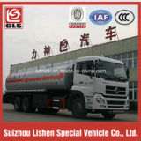 6X4 Dongfeng 19cbm Carbon Steel Oil Transport Tank Truck