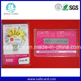 PVC Plastic Scratch Card, Pin Number Scratch Card