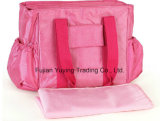 Pink Multifunction Mom Double Shoulder Bag