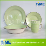 Hot Sale Stoneware Handpainted Dinnerware Set