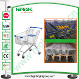 60 Litres European Style Shopping Trolley Cart
