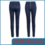 Women High Waist Zipped Jeans (JC1142)