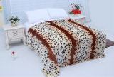 Hot Sale 100% Polyester Raschel Blanket Sr-B170305-13 Soft Printed Mink Blanket