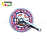 Colourful Bicycle Parts Bicycle Chainwheel Crank Sprocket