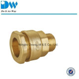 Brass Compression Fitting for PE Pipe Male Coupling