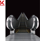 Indoor or Outdoor Escalator with Two Step Hairline Stainless Steel
