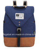 Fashion Lady′s Canvas Sport Laptop Backpack Bag
