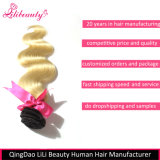Wholesale Virgin Human Hair Body Wave Hair Bundles for White Women