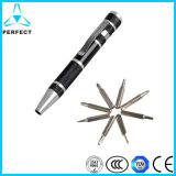 6-in-1 Pen LED Light Type Screwdriver