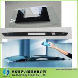 6mm Curved Toughened Glass Panel for Range Hood/Cooker Hood/Kitchen Hood