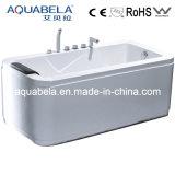 Rectangle Indoor Acrylic Massage Bathtub (JL812)