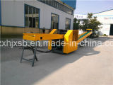 800kg Hourly Output Two Conveyor Electric Rag Tearing Machine