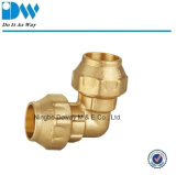 Brass Fitting for Polyethylene Pipe Elbow