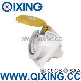 Waterproof IP44 5pin Industrial Plug Socket AC 110-130V 16AMP