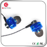 Best Selling Metal Wired Earphone with Double Moving Coil
