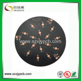 Shenzhen 94V0 Single Layer Aluminum Round LED Printed Circuit Board Assembly