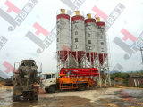 Jh Brand Hzs50/60/75 Stationary Concrete Mixing/Batching Plant for Sale