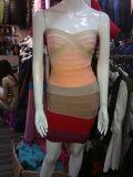 Gradient Tube Sexy Bodycon Dress