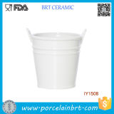 Wholesale Ceramic Decorative Round Storage Bucket