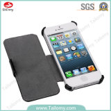 New Quality Cell/Leather/Filp/PU/Stand Phone Cases Cover for iPhone5S