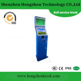 Dual Screen Lobby Standing Self Service Payment Kiosk