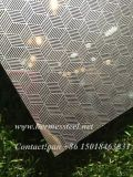 Ss304 Stainless Steel Sheet in Check Emboss Decoration