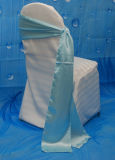 Sky Blue Satin Sash