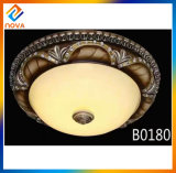 Luxury Bowl Light Modern Resin Ceiling Lamp Chandelier Lighting