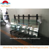 Flat / Curved 12mm Tempered Glass with Ce / ISO9001 / CCC