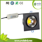China Factory 15W Square LED Downlight with CE SAA