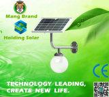 Solar Powered LED Garden Wall Light with Microwave Sensor