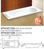 Australia Simple Acrylic Bathtubs Wtm-02112