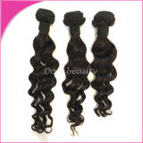 100% Virgin Hair Indian Loose Curl Human Virgin Hair Weft
