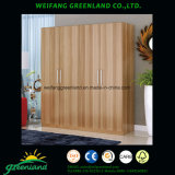 Wood Panels Wardrobe with Modern Design