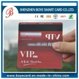 Magnetic Stripe and Signature Panel Transparent VIP Card