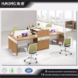 Modern Design 4 Seats Wooden Office Workstation