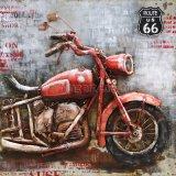 OEM 3 D Metal Painting for Motobike