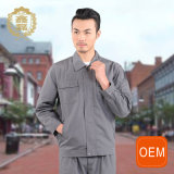 OEM Custom Made Scrub Overalls, Gray European Overalls Work for Men