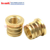 High Quality Brass Round Knurled Threaded Insert Nut