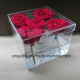 High Quality Acrylic Flower Box with Lid
